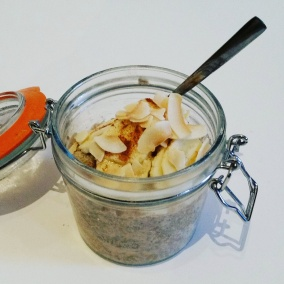 Chia Banana and Tahini