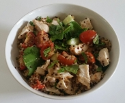 Tangy Chicken Quinoa Salad